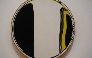 Картина мазок, рой лихтенштейн — описание