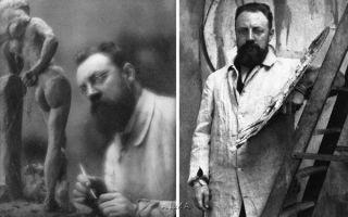 Мужчина-модель (натуршик) — анри матисс, 1900