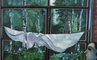 Зеленый скрипач, марк шагал — описание картины