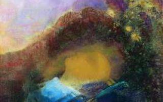 Орфей у гробницы эвридики, гюстав моро — описание картины
