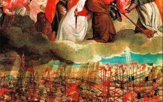 Аллегория битвы при лепанто, паоло веронезе