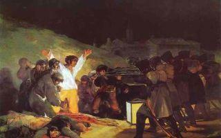 Продавец посуды, франсиско де гойя — описание картины