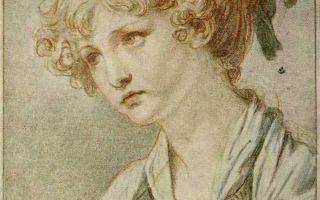 Картина «паралитик», жан-батист грёз, 1763