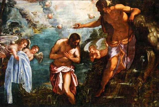 Крещение Христа, Якопо Тинторетто