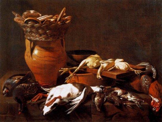 Натюрморт с музыкальными инструментами, Эваристо Баскенис, 1650