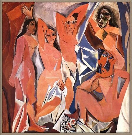 Авиньонские девицы, Пабло Пикассо, 1907