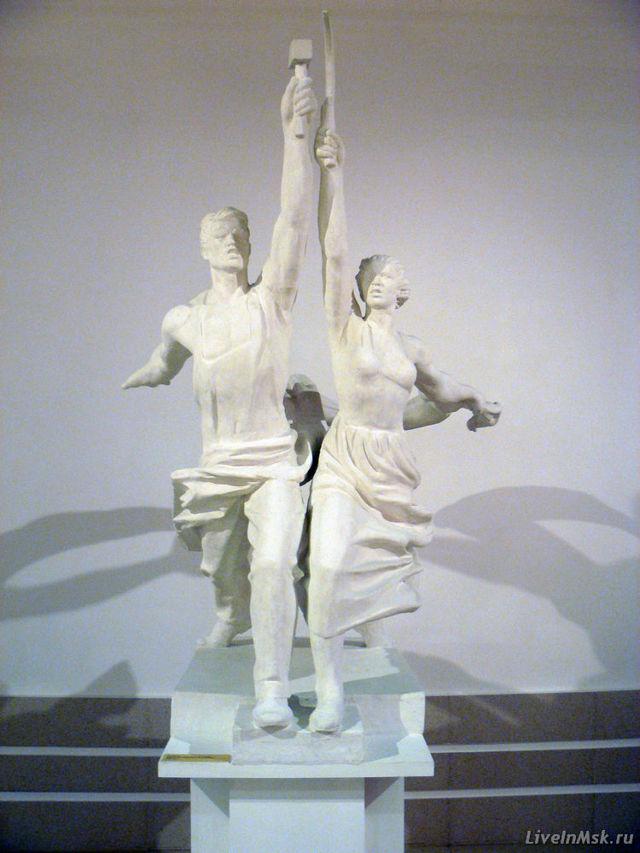 Скульптура «Рабочий и колхозница»: автор, описание, история