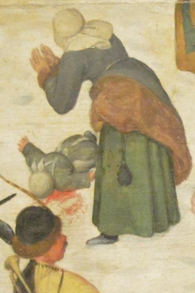 «Избиение младенцев», Питер Брейгель Старший — описание картины