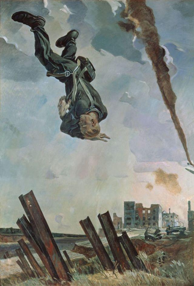 «Раздолье», Александр Александрович Дейнека, 1944 год — описание картины
