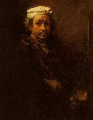 «Польский всадник», Рембрандт — описание картины