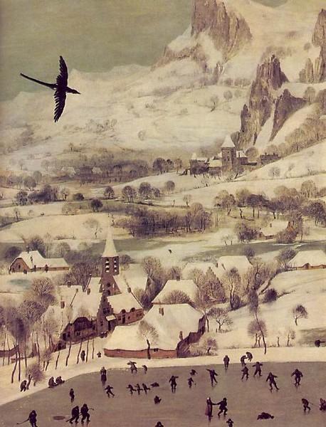 «Охотники на снегу», Питер Брейгель Старший — описание картины