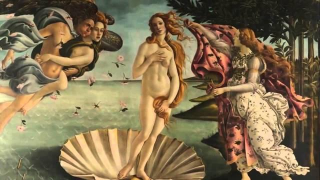 «Бездна Ада», Сандро Боттичелли — описание картины