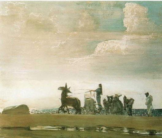 Одиссей и Навзикая, Серов, 1910