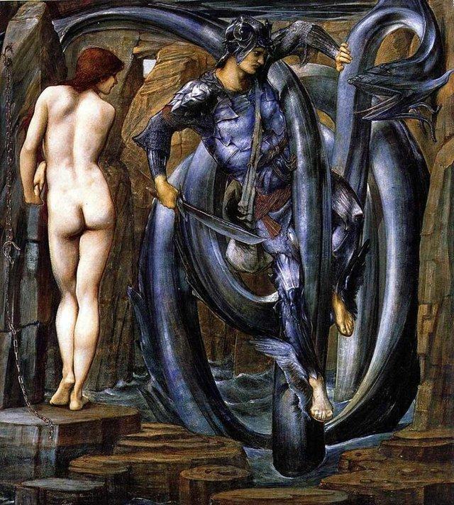 «Персей освобождающий Андромеду», Пьеро ди Козимо — описание картины