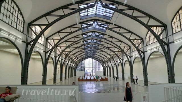Музей современного искусства в Берлине (Гамбургский вокзал)