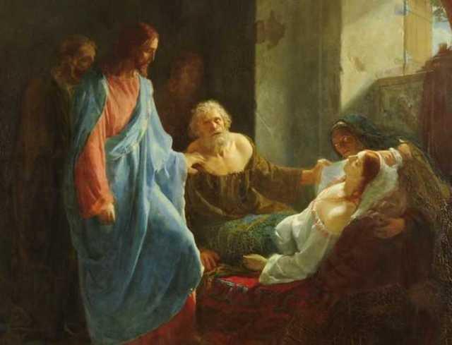 Воскрешение дочери Иаира, 1947, Стенли Спенсер