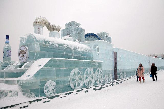 Ледяные скульптуры: фото, про фестивали