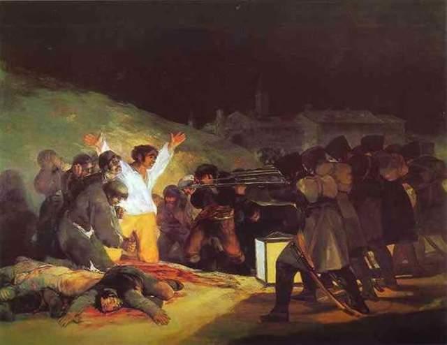 Продавец посуды, Франсиско де Гойя - описание картины