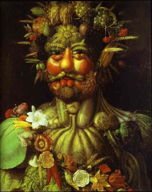 «Вертумн», Джузеппе Арчимбольдо — описание картины