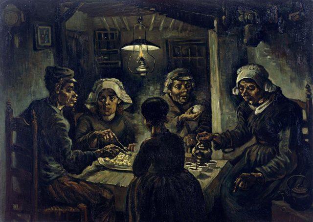 Картина «Звездная ночь», Винсент Ван Гог — описание