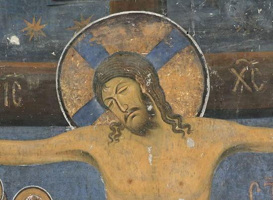 «Распятие», Маттиас Грюневальд — описание