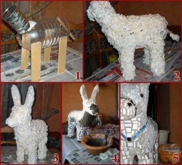 Скульптура из монтажной пены