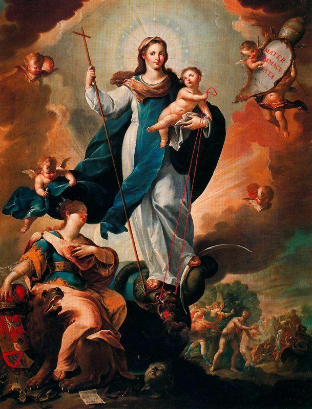 «Непорочное зачатие», Пьеро ди Козимо — описание картины