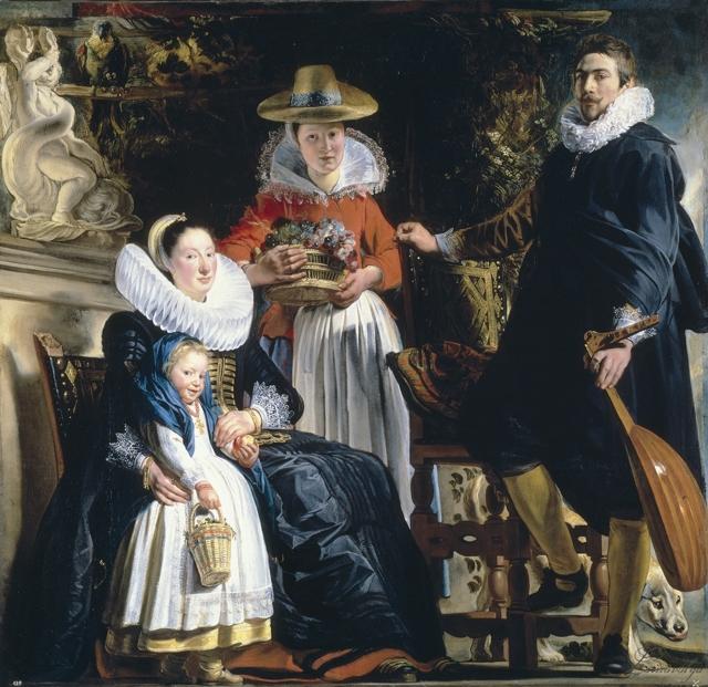 Поклонение пастухов, Якоб Йорданс, 1618