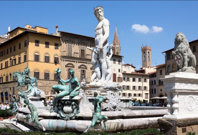 Скульптуры Флоренции