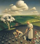 Картина «Американская готика», Грант Вуд — описание