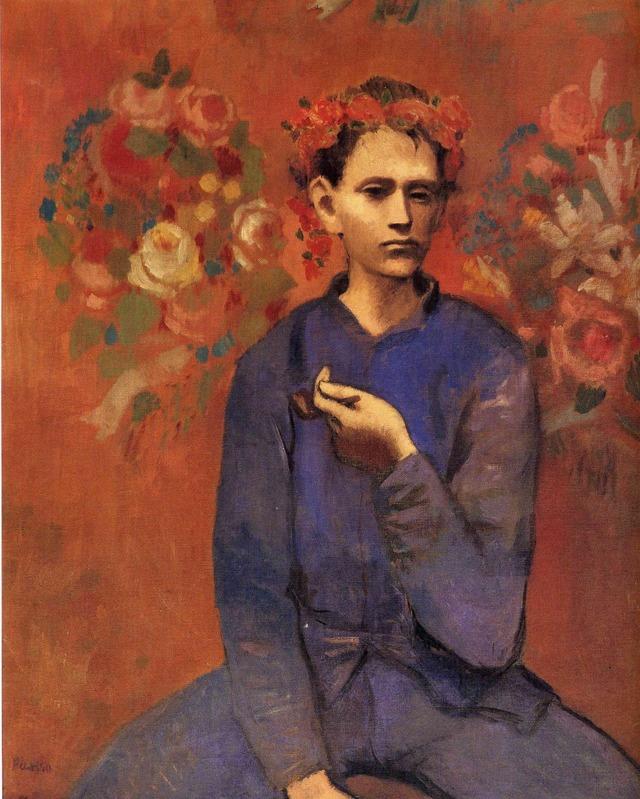 Мальчик с трубкой, Пабло Пикассо, 1905