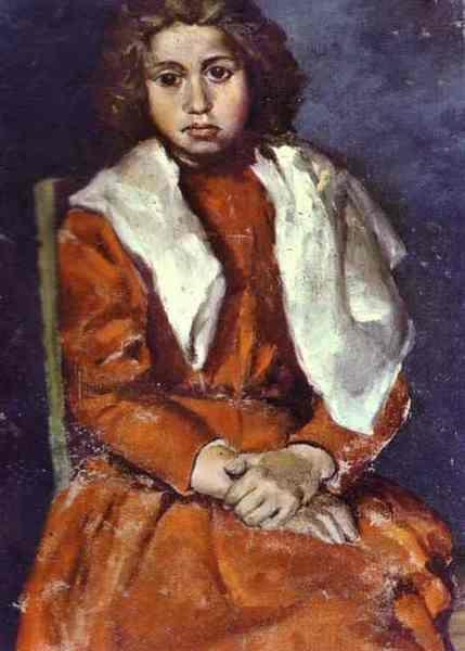 Мальчик, ведущий лошадь - Пабло Пикассо, 1906