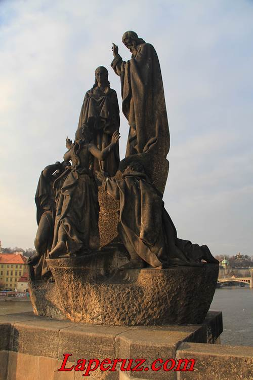 Карлов мост в Праге, Оскар Кокошка, 1936