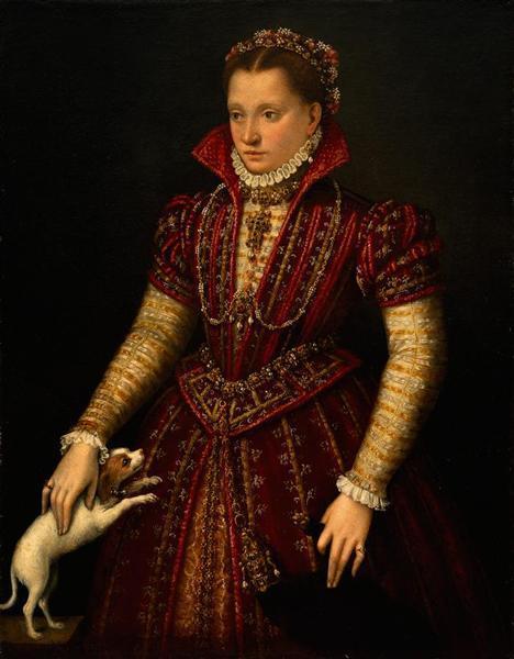 Одевающаяся Минерва, Лавиния Фонтана, 1613