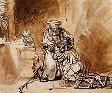 «Возвращение блудного сына», Рембрандт — описание и видеообзор картины