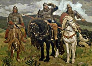 Описание картины «Богатыри. (Три богатыря)» Васнецова, история картины