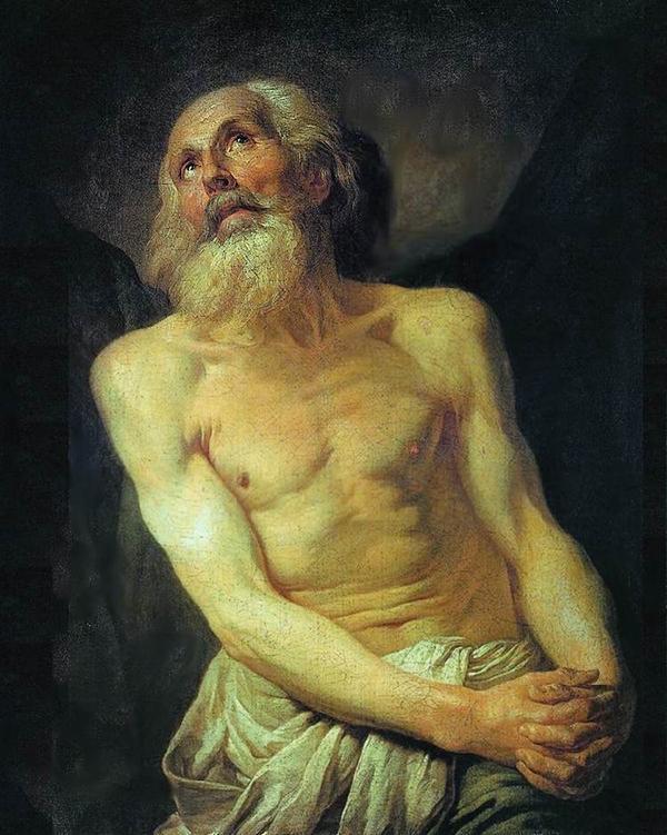 Прощание Гектора с Андромахой - А. П. Лосенко, 1773