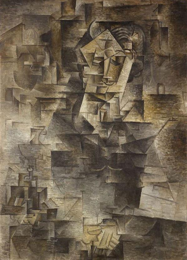 Портрет Гертруды Стайн, Пабло Пикассо