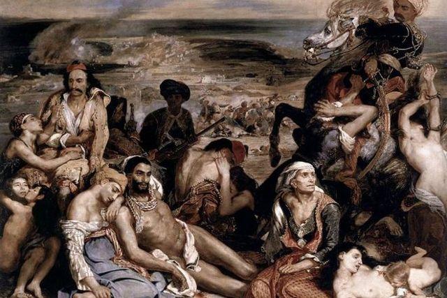 «Алжирские женщины в своих покоях», Эжен Делакруа — описание картины