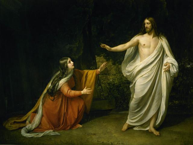 «Приам, испрашивающий у Ахиллеса тело Гектора», Иванов — описание картины