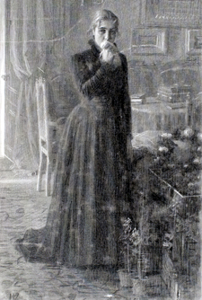 Картина «Неутешное горе», Крамской — описание