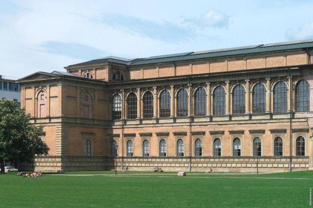 Старая и Новая Пинакотека, Пинакотека современности, Мюнхен, Германия