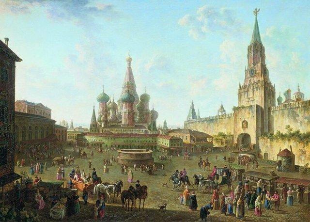 Фёдор Яковлевич Алексеев, биография и картины