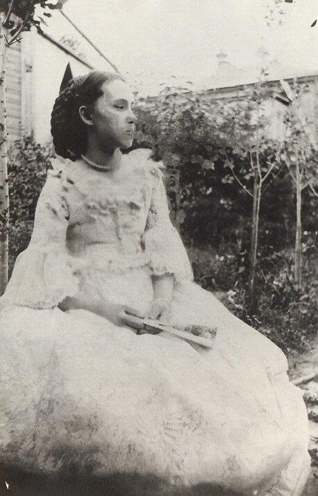 Автопортрет с сестрой, В. Э. Борисов-Мусатов, 1898