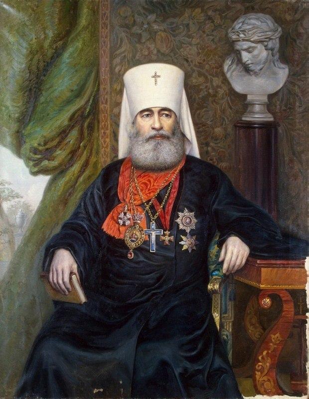 Портрет митрополита Антония, А. А. Карелин, 1911