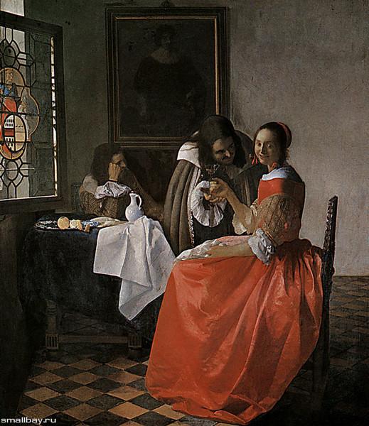Аллегория веры, Ян Вермеер, около 1670