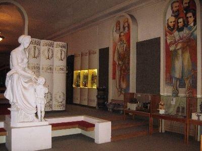 Педагогический музей в Киеве - описание экспонатов, Украина