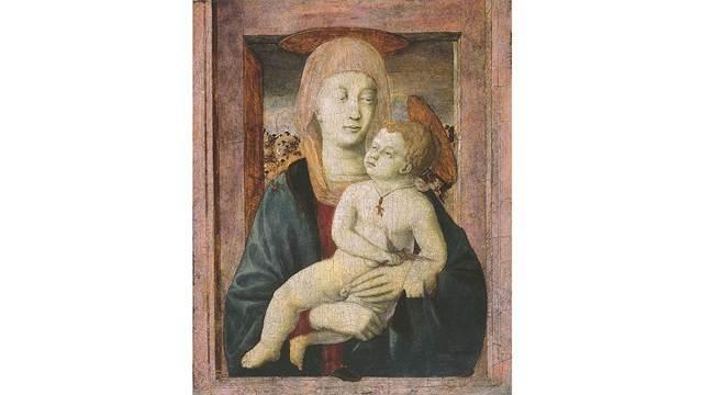 Святой Иероним с донатором, Пьеро делла Франческа