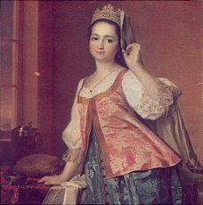 Портрет Екатерины ii, Дмитрий Григорьевич Левицкий — описание