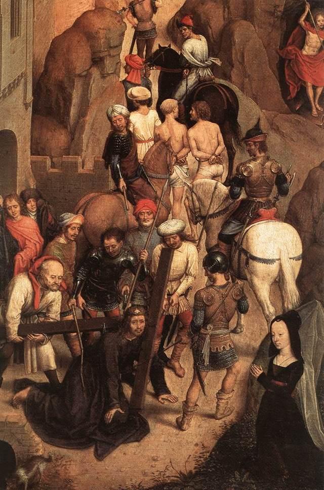 Святой Христофор, Ганс Мемлинг, 1484